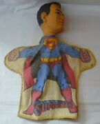 Ideal Toy Hand Puppet Superman