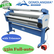 Ca Pick Up Qomolangma 55in Full-auto Wide Format Cold Laminator With Trimmer