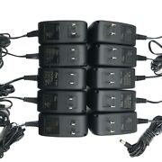Lot Of 100 - New 18w Pace Ac Adapter 12v 1.5a For Atandt U-verse Equipment