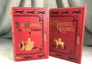 Mr. Romford's Hounds And Ask Mamma Fox Hunting Horses Antique Victorian 2 Books
