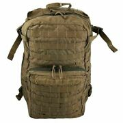 3 Turn-in Military Usmc Filbe Assault Pack Coyote Surplus