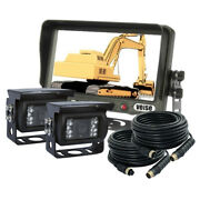 7 Digital Car Backup Camera System With Waterproof Sharp Ccd Camera For Truck