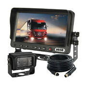 7 Car Backup Camera System With 420tvl Sharp Ccd Camera For Truck School Bus