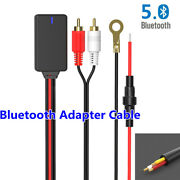 Universal Car Bluetooth 5.0 Radio Stereo Adapter Cable 2rca Connector Music Aux