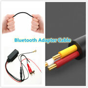 Car Bluetooth 5.0 Radio Stereo Audio Cable Adapter 2rca Connector Music Aux