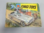 Vintage Corgi Toys 1966 Catalogue Guide Brochure Collectors Cars James Bond