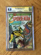 Amazing Spider-man Annual 10 Signed By Romita And Wein 1st Human Fly 8.0 Vf Cgc