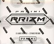 2020-21 Panini Prizm Epl Soccer Cards Factory Sealed 12 Pack Fat Pack Boxandnbsp
