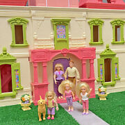 Fisher Price Loving Family Grand Mansion Dream Dollhouse W/ Lots Of Furniture