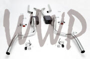 3 Header Back Exhaust System 68-72 Gm A-body Abody V8 With Flowmaster Mufflers