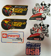 Snap On Rick Mears Stickers .