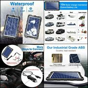 Powoxi-upgraded-solar-battery-charger-maintainer, External Smart 3-stages