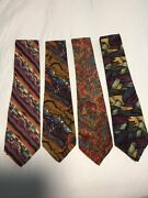 Vintage Jerry Garcia Abstract Ties Collectiom