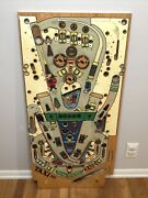 Williams Taxi Pinball Machine Used Playfield. Retro Wooden Art. 1988