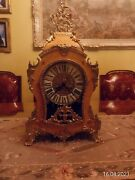 Vintage German Franz Hermle Clock Made In Itali German Movment Works Perfect