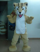 Cosplay Leopar Mascot Costume Party Game Dress Clothing Carnival Halloween Adult
