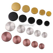 200pcs 304 Stainless Steel Glass Advertising Mirror Nails Decorative Screw Caps