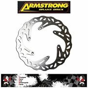 Ktm 250 Exc Tpi 18-20 Armstrong Wavy Front Brake Disc Upgrade Oe Quality Bkf109