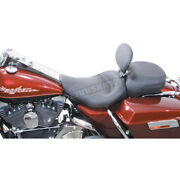Mustang Seats 16 1/2 In. Wide Vintage Solo Seat W/removable Backrest - 79348