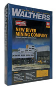 Walthers Cornerstone 933-3017 Ho Scale New River Mining Company Kit
