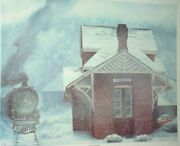 Sykesville Train Station Signed Limited Print By Patricia Winson - Suder