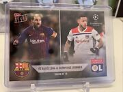 2018 Topps Now Lionel Messi Barcelona Depay Uefa Champions Ucl Card R5 Pr 75