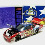 Action Mike Skinner 2000 Chevy Monte Carlo 31 Lowes Army Car 124 Scale Bank