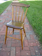 Charming Antique Child's Youth Doll High Chair Great Display Piece Dolls, Etc.