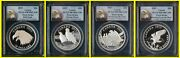 2013 Canada 20 Silver Bald Eagle Pcgs Pr70 First Strike Complete 4 Coins Set