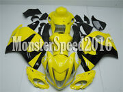 Injection Molding Fairing Fit For Suzuki Gsxr 1300 2008-2018 Yellow Black Aap