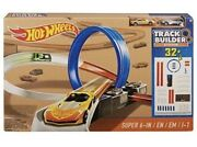 Hot Wheels Super 6-in-1 Race Track Builder Set Brand New N Boxed