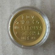 Lithuania 50 Euro 2015 Minting Of Coins Au Gold Proof