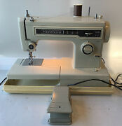 Vintage Sears Kenmore 158.13410 Sewing Machine Tested And Works