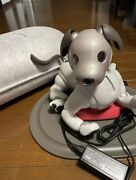 Sony Aibo Ers-1000 Entertainment Robot Dog Ivory White Excellent Condition Cute