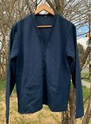 Vintage Vietnam War Usaf Us Air Force Blue Shade 1503 Acrylic Sweater. Size 40