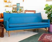 Vintage Lawrence Peabody For Nemschoff Sofa Model 98632 Mid-century Modern Couch