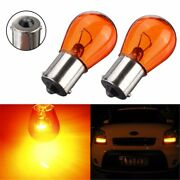 2x Amber Bulb 1156 P21w Ba15s 581 Bayonet Base Lamp 21w Turn Signal Light 12v/