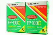 【brand New】 Fujifilm Fp-100c X 2 Packs Instant Color Film Expired From Japan533