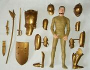 Louis Marx Sir Gordon Golden The Noble Knights Action Figure Doll Accessory 12