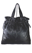 Unlimited 31 Rue Cambon Large Embossed Leather Drawstring Tote Rare Andpound3k