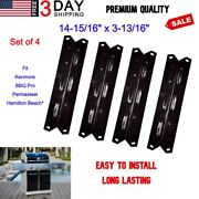 Bbq Pro 4 Porcelain Steel Heat Plates For Kenmore Permasteel Replacement Parts