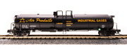 Broadway Limited 3721 N Scale 2-pack Cryogenic Tank Cars Air Products