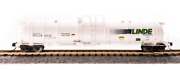 Broadway Limited 3724 N Scale 2-pack Linde Cryogenic Tank Cars