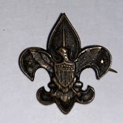 Boy Scout Tenderfoot Patrol Leader Unmarked Early Possible Foley Very Rare 5-