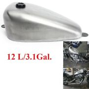 3.1gal Gas Fuel Tank And Cap Set For Honda Shadow Vt600 Iron Horse Steed 400 600