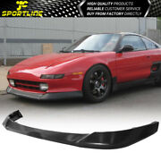Fits 91-95 Toyota Mr2 Aw Aeroware Style Front Bumper Lip Spoiler - Pu