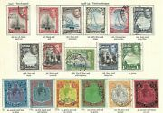 Bermuda-1938/53-george Vi-and039and039 Full Set To Andpound1 And039and039 17 Values - Superb -sg 110/22 .