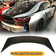 Rear Spoiler Trunk Boot Wing Lip Real Carbon Fit For Bmw I8 I8 Coupe 2014-2018