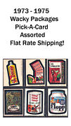 1973 - 1975 Wacky Packages Assorted Pick-a Card  Flat Rate Shipping