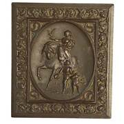 Antique Littlefield Parsons And Co Lady Godiva Gutta Percha 1/6 Case 1869 Tintype